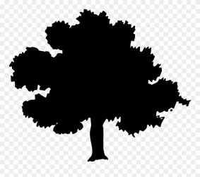 Oak Tree Silhouette Png Download Toland Home Garden I Love New York 2 Side Garden Flag Clipart #47747 PinClipart