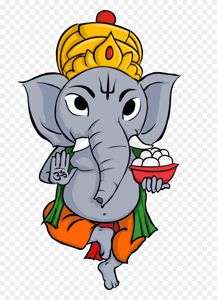 Indian Elephant Clipart : indian, elephant, clipart, Illustration, Hindu, Ganesha, Indian, Elephant, Clipart, (#4068929), PinClipart
