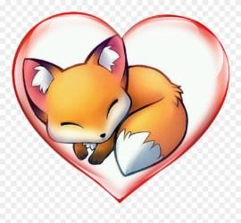 M4 Anime Cute Fox Drawing Clipart #4469259 PinClipart