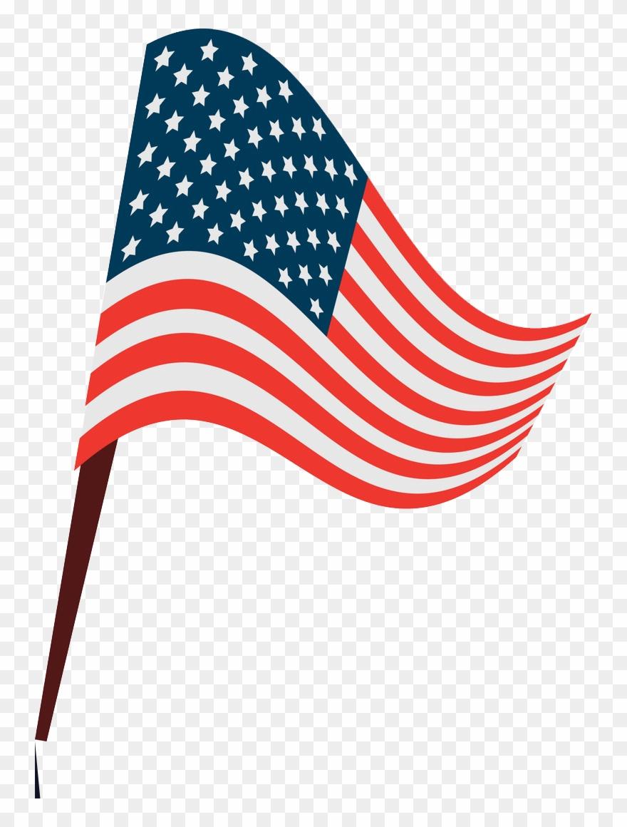 American Flag Waving Png : american, waving, American, Clipart, (#4931235), PinClipart