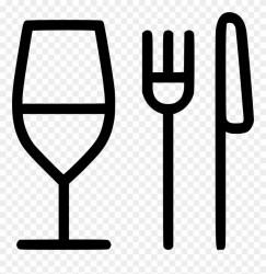 Fork Clipart Elegant Restaurant Food Icon Png Transparent Png #526342 PinClipart