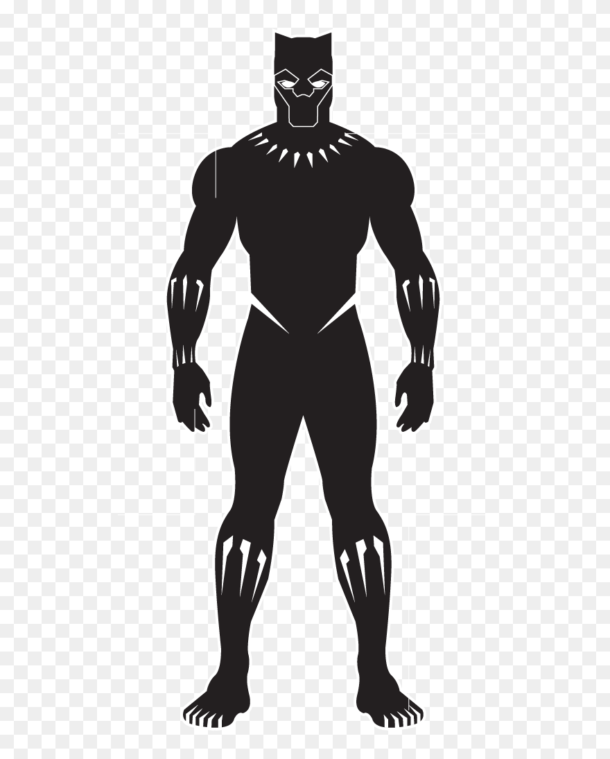 Easy Black Panther Drawing : black, panther, drawing, Panther, Clipart, Superhero,, Picture, Black, Drawing, Download, (#5239655), PinClipart
