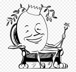 Emotion art monochrome Photography Egg King Clipart #5328773 PinClipart