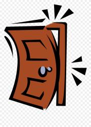 Shut The Door Clipart Png Download #5355173 PinClipart