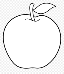 Transparent Fruits Clipart Black And White Line Art Png Download #5448759 PinClipart