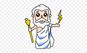 zeus clipart drawing easy pinclipart