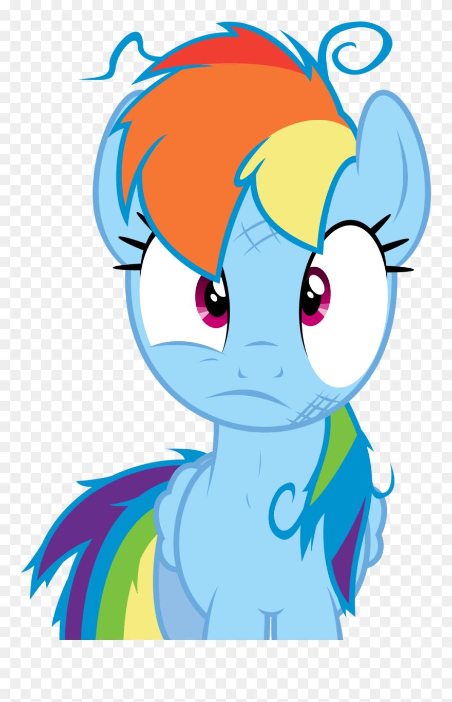 Rainbow Dash Hair : rainbow, Crazy, Clipart, Rainbow, Download, (#5508545), PinClipart