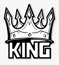 Transparent King Crown Clipart Black And White King Crown Black And White Clipart Png Download #5511948 PinClipart