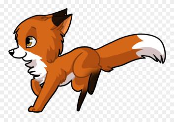 Cute Baby Fox Anime Transparent Cute Cartoon Fox Clipart #5614498 PinClipart