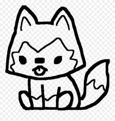 Kawaii Cute Wolf Drawings Clipart #5651726 PinClipart