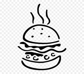 Vector Illustration Of Fast Food Hamburger Meal In Hamburger Png Vector Clipart #5673246 PinClipart