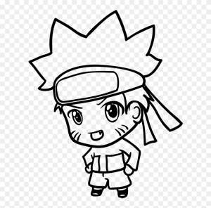 naruto easy drawing draw chibi clipart pinclipart learn