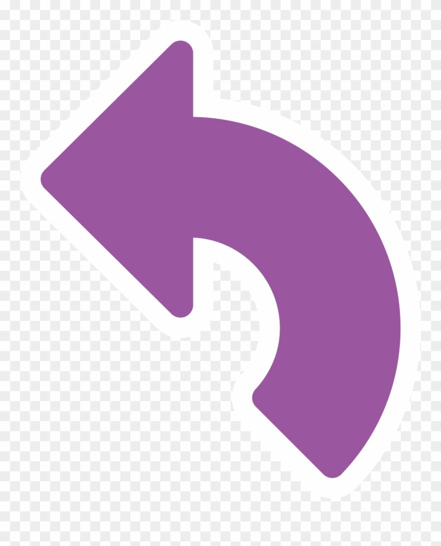 Tanda Panah Png : tanda, panah, Photo, Clipart, Tanda, Panah, Belok, Transparent, (#706187), PinClipart