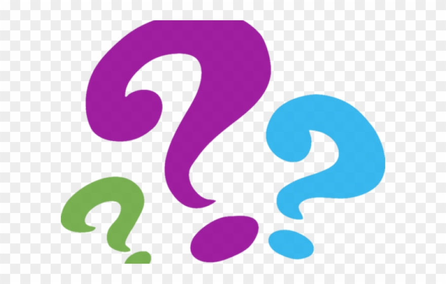 Question Marks Clipart Black