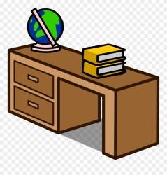 Desk Clipart Desk Drawer Desk Cartoon Png Transparent Png #791101 PinClipart