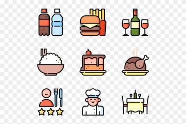 Line Clipart Menu Restaurant Menu Icon Vector Png Download #86256 PinClipart