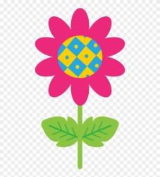 Garden Clipart Watercolor Flowers Cartoon Version Png Download #855665 PinClipart