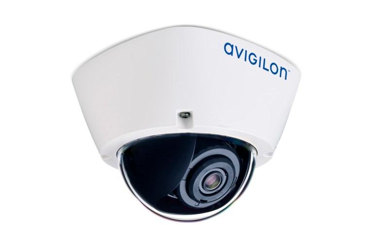 Avigilon H5A dome camera (right ¾ view)