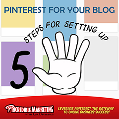 Steps for Setting up Pinterest