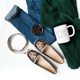 Denim Quilt Cover Set – Charcoal