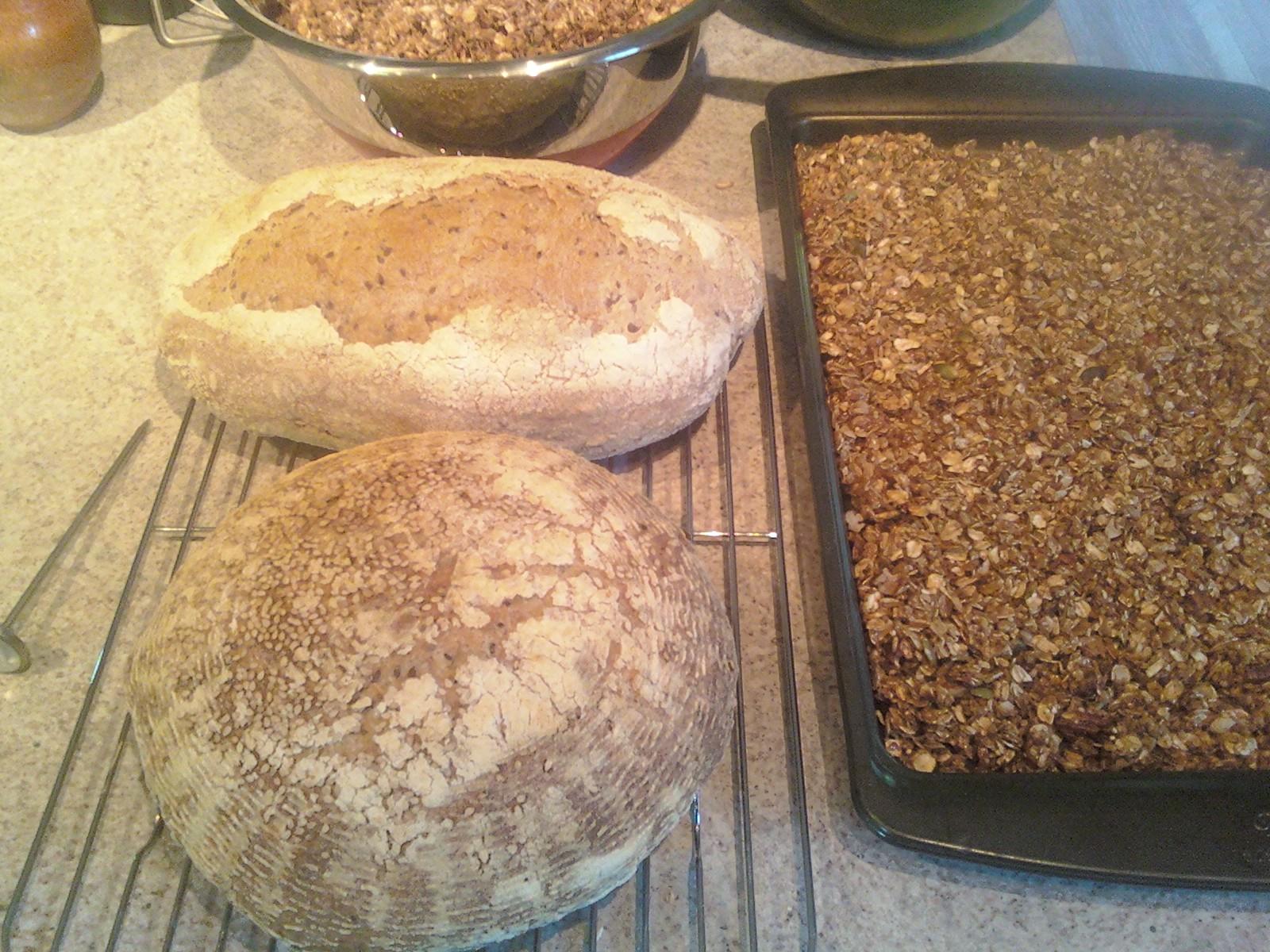 Bread and Granola