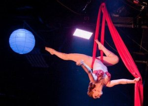 Angi B Lovely performs at Texas Burlesque Fest