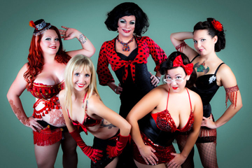 Black Widow Burlesque. Photo: Steve Dement