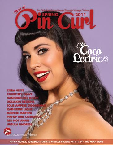 Coco Lectric. Photo: DallasPinUp.com MUA/H: Ladonna Stein Cover Design: Jenni Leder