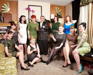 The Pinup Angels with Java. Photo: Monologue Photography