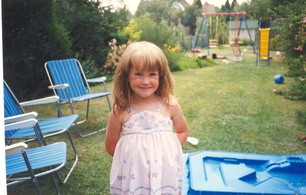A very young Holli-Mae.
