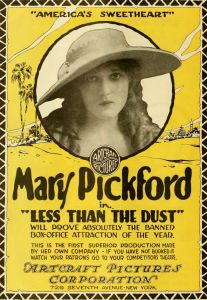 "Mary Pickford, one of the earliest movie ""stars"""