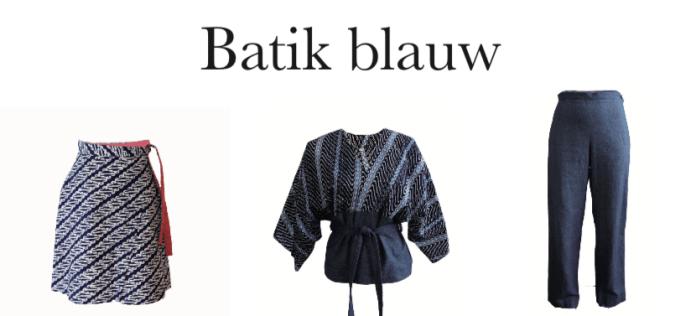Sneak preview: Batik-blauwe mode in PINDA* – de glossy met een Indisch tintje. Bestel 'm alvast