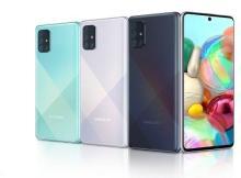 Desain Samsung Galaxy A71