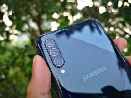 Kamera Samsung Galaxy A50S