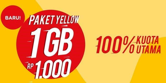 Cara Daftar Paket Yellow Indosat