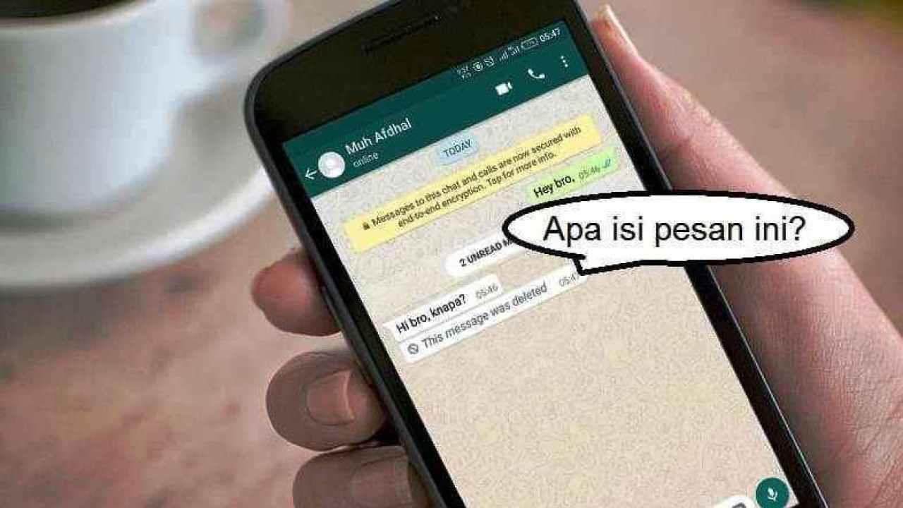 Cara Melihat Pesan Whatsapp Yang Dihapus Dengan 3 Metode Mudah