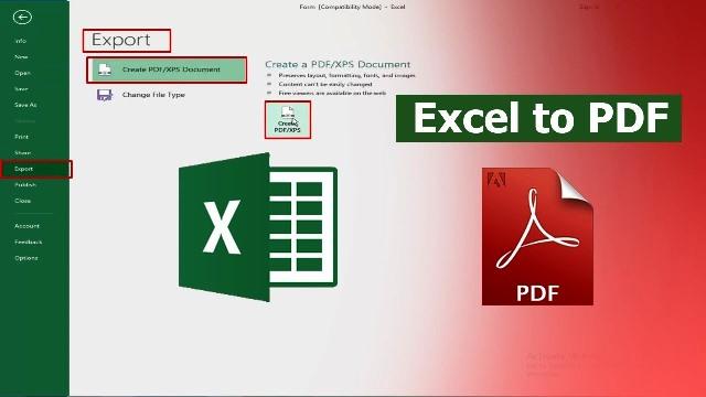 Cara Merubah Excel Ke Pdf Dengan 5 Metode Mudah
