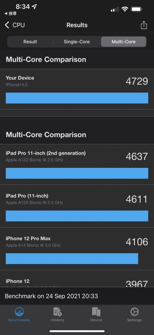 S 857507 - iPhone 13 Pro Max 開箱試玩 跑分螢幕拍照一次看