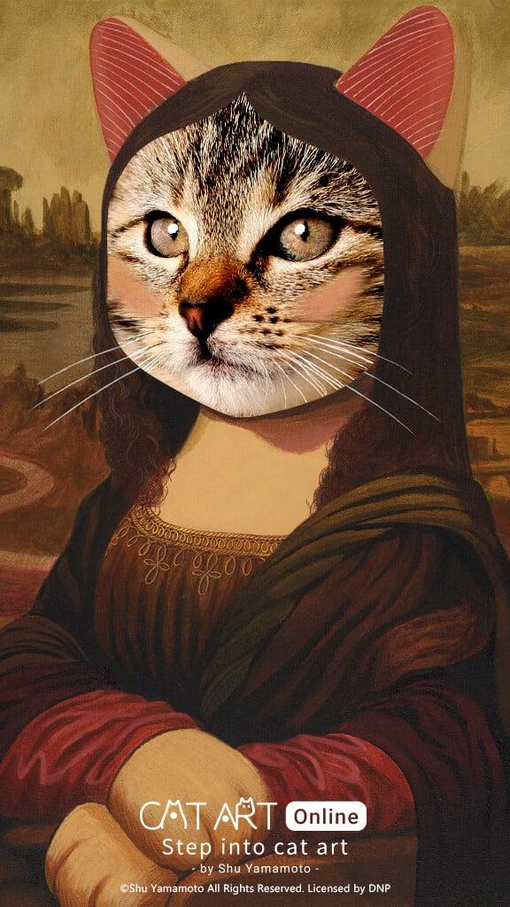 Step into Cat Art 04 2 - 《Step into Cat Art 走進喵次元》貓・美術館9.17線上開展