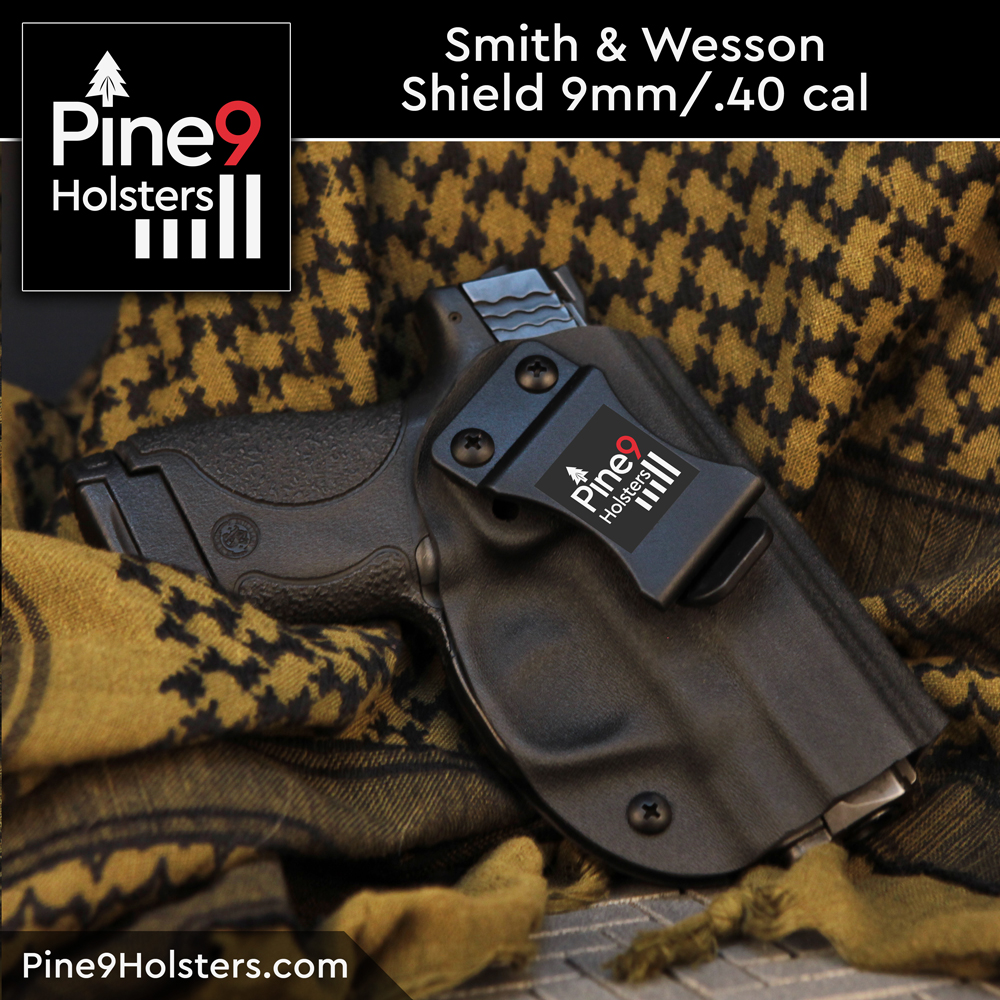 Smith & Wesson Shield 9mm .40 cal M&P holster