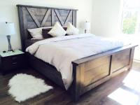 Barn Door Farmhouse Bed - Pine+Main