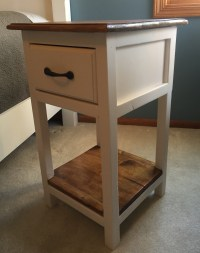 Farmhouse Nightstand, End Table - Pine+Main