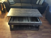 Rustic lift top coffee table - Pine+Main