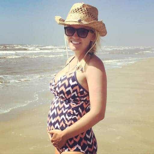 pregnant swimsuit
