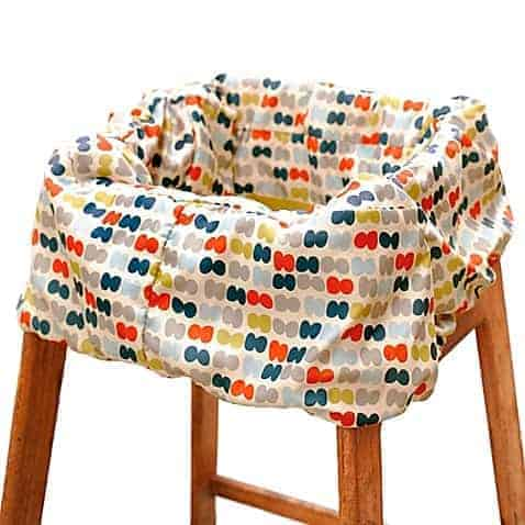 skip hop high chair shopping cart cover