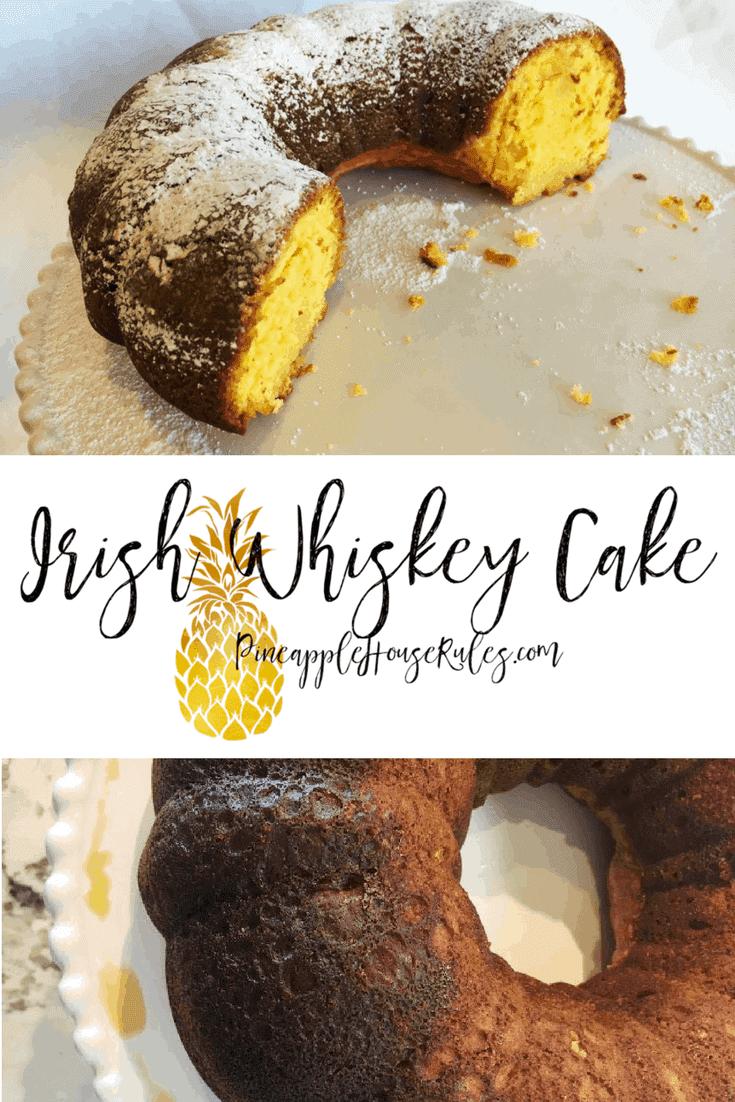 Irish Whiskey Cake