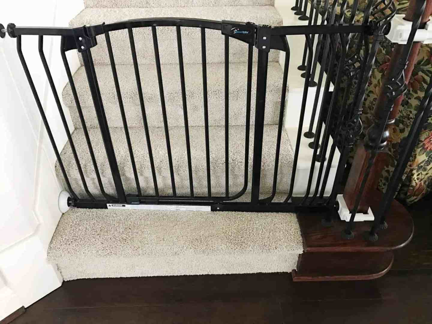 Baby Gates for Difficult Stairs