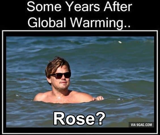global warming meme