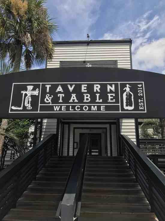 tavern and table sullivans island