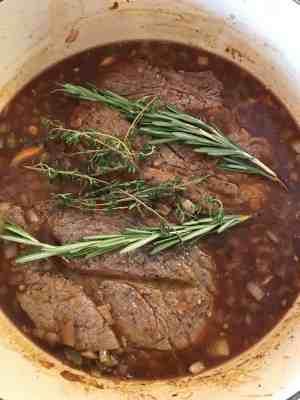 pioneer woman red wine pot roast